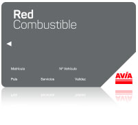 Tarjeta red combustible