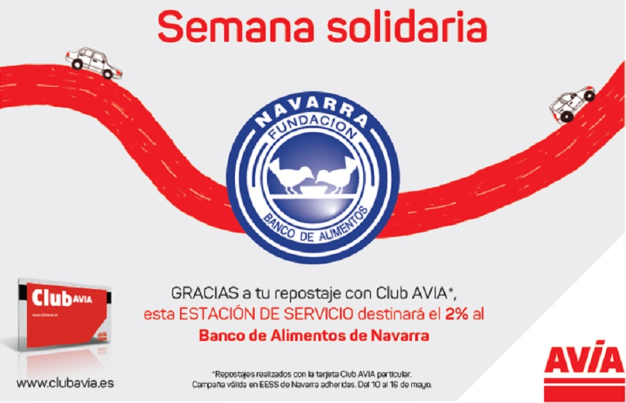 AVIA y Banco Alimentos Navarra